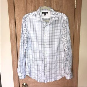 Banana Republic Non Iron Tailored Slim Shirt